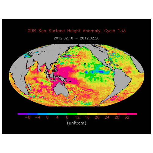 Ocean Surface Topography Mission (OSTM) /Jason-2: Orbital