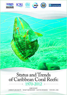 Status and trends of Caribbean coral reefs: 1970-2012