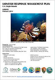 Lionfish response management plan. U.S. Virgin Islands