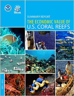 cover - Summary Report: The Economic Value of U.S. Coral Reefs