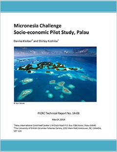 Cover - Micronesia Challenge: Socio-economic Pilot Study, Palau