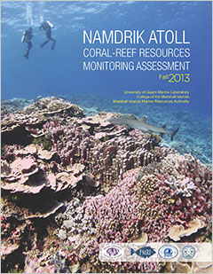 Cover -Namdrik Atoll. Coral-Reef Resources Monitoring Assessment