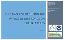 Guidance for reducing the impact of dirt roads on Culebra reefs