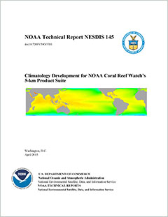 Cover - Climatology Development for NOAA Coral Reef Watch's 5-km Product Suite