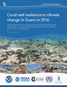 Coral Reef Resilience to Climate Change in Guam in 2016