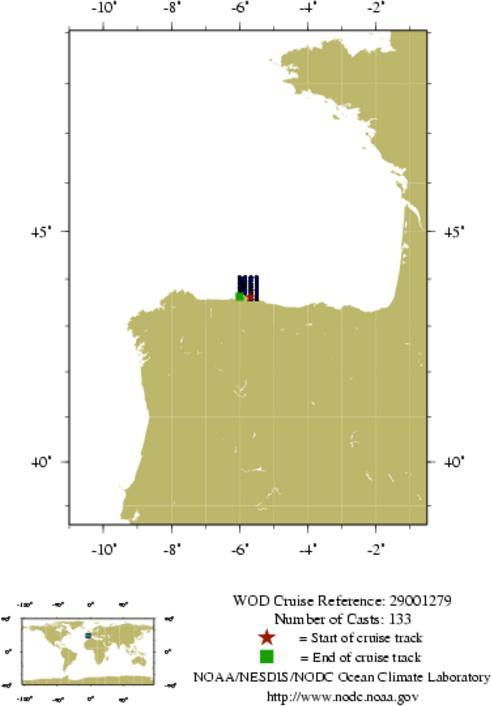 NODC Cruise 29-1279 Information