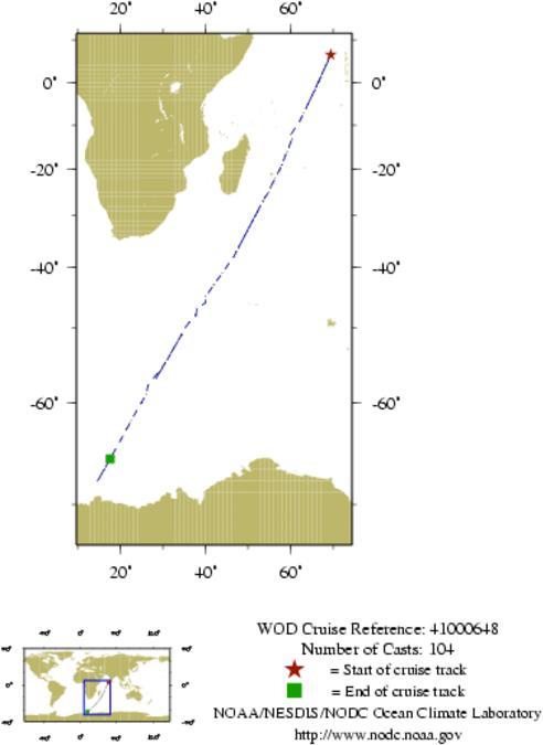 NODC Cruise 41-648 Information
