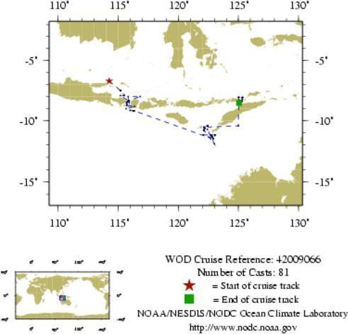 NODC Cruise 42-9066 Information