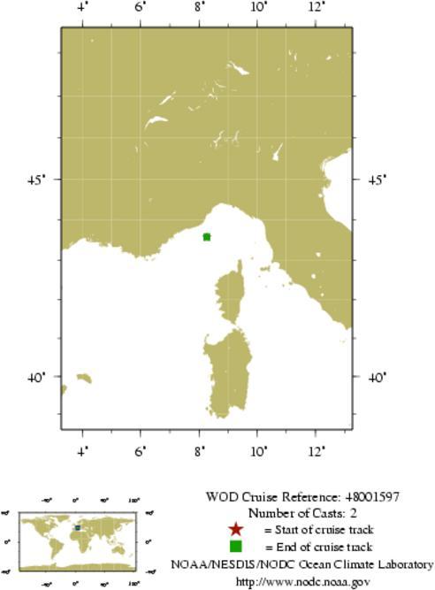 NODC Cruise 48-1597 Information