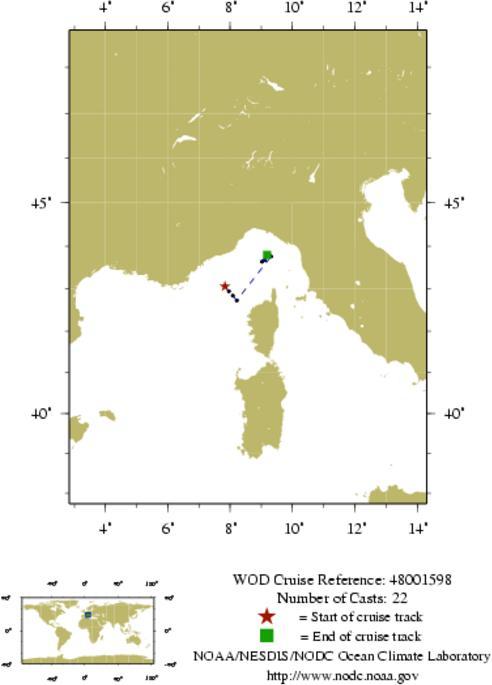 NODC Cruise 48-1598 Information