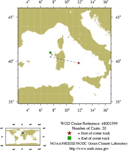 NODC Cruise 48-1599 Information