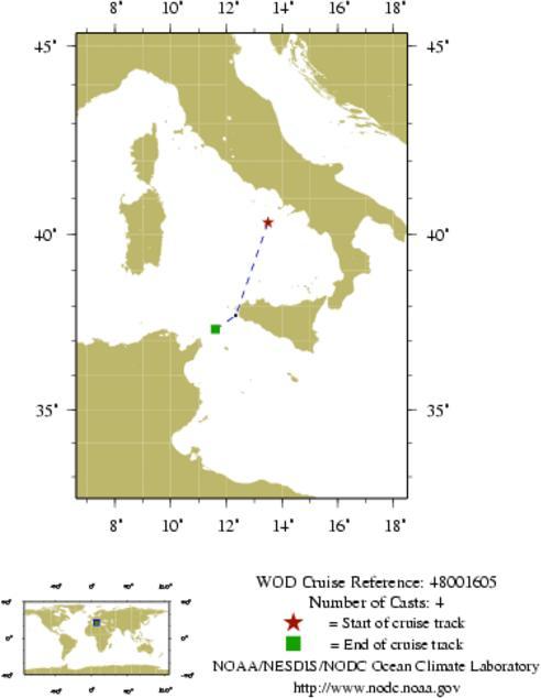 NODC Cruise 48-1605 Information