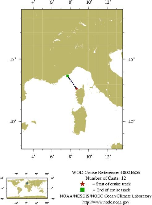 NODC Cruise 48-1606 Information