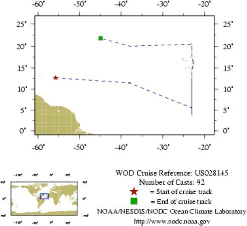 NODC Cruise US-28145 Information
