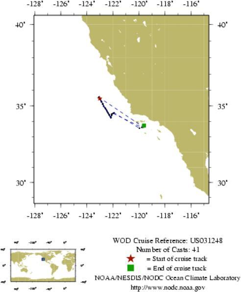 NODC Cruise US-31248 Information