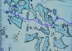 Map of Manila Galleons Voyage, Garcia et al.