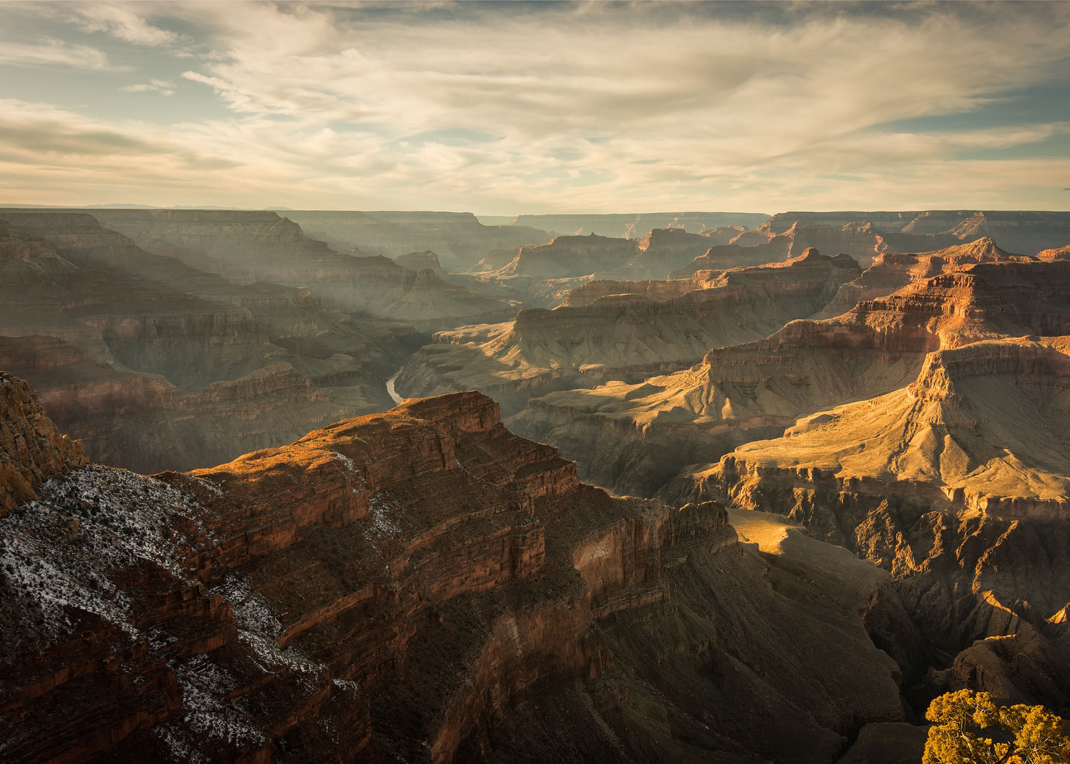 Scenic overlook in Grand Canyon National Park