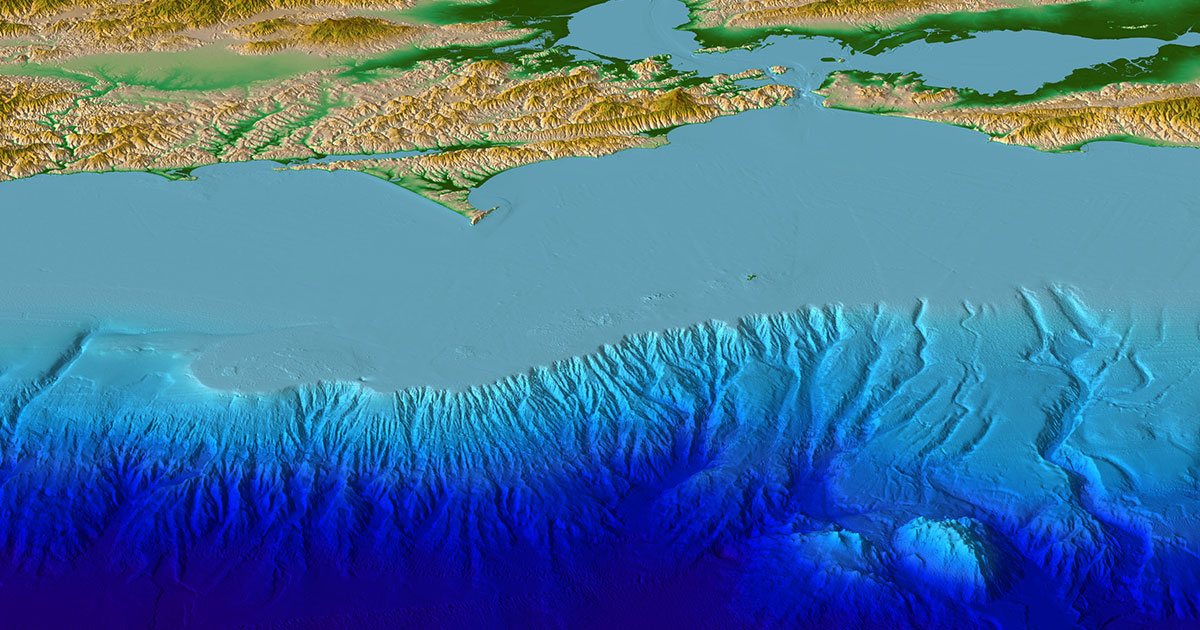 Ocean Floor Elevation : What can the ocean floor tell us about tsunamis