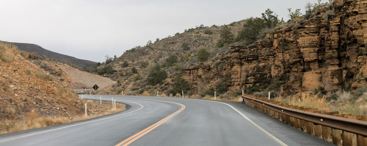 Photo of a road through Arizona
