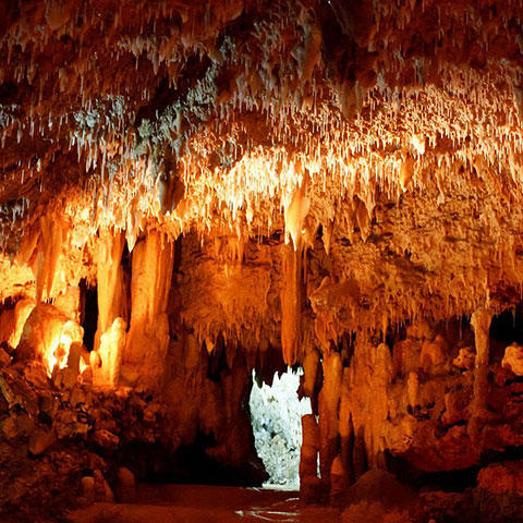 Photo of cave formations