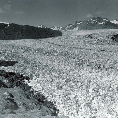 Photo of Muir Glacier in 1941