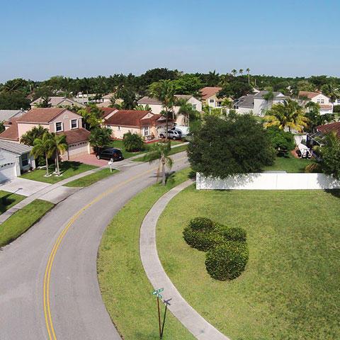 Photo of a Florida Neighborhood