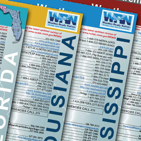 Image Preview of NOAA Extreme Weather Information Sheets