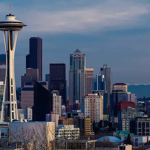 Photo of Seattle, Washingotn, Skyline, Credit: ©iStock Tom Kii