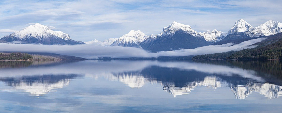 Picture of Lake McDonald in Montana