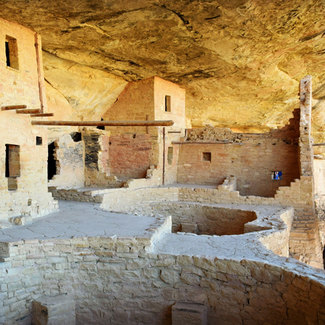Picture of Mesa Verde National Park in Colorado
