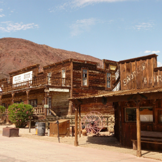 Photo of Calico ghost town in Mojave Desert