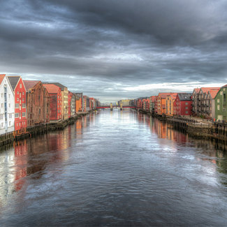 Picture of Trondheim Norway