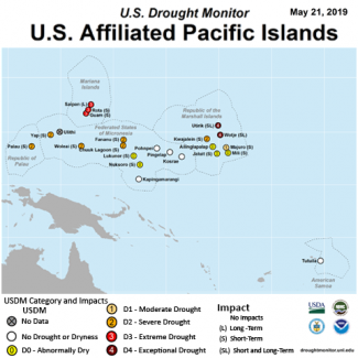 Map of U.S. Affiliated Pacific Islands