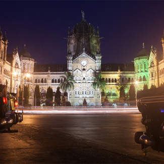 Picture of Victoria Station in Mumbai India
