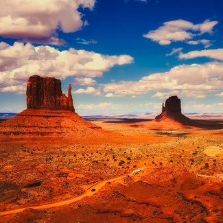 Picture of Monument Valley in Arizona