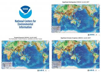 Maps of Natural Hazards Events