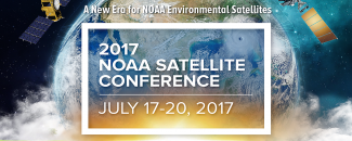 Image highlighting 2017 NOAA Satellite Conference on July 17–20, 2017