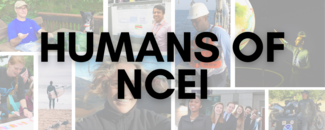 Banner collage image of staff photos for Humans of NCEI Series
