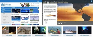 Screenshots of NOAA Educational Websites and Resources