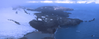Photo of Admiralty Bay in Antarctica