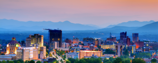 Picture of Downtown Asheville, North Carolina