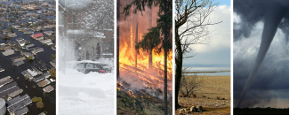 Images of weather and climate disasters