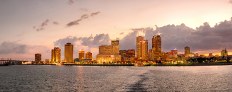 Photo of the New Orleans, Louisiana, skyline