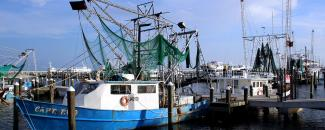 Picture of Fishing Boat in Pass Christian, Mississippi, by Barbara Ambrose, NOAA NCEI