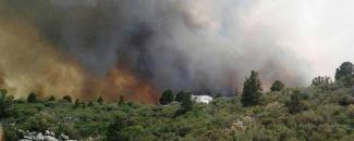 Photo of the Yarnell Hill Fire in 2013