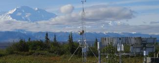 Photo of U.S. Climate Reference Network Station in Denali, Alaska