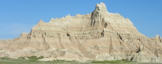Image from South Dakota Badlands by Jerry Penry for NOAA