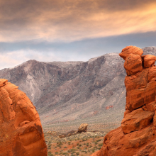 Photo of the Valley of Fire in Nevada
