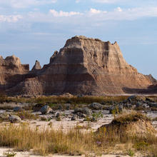 Photo of Badlands National Park in North Dakota