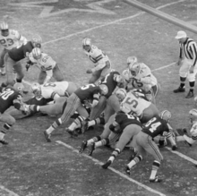 Picture of 1967 Ice Bowl football game in Green Bay, WI, by AP courtesy of NWS